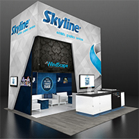 EXHIBITORLIVE booth