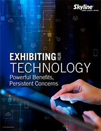 Exhibiting with Technology by Skyline Exhibits