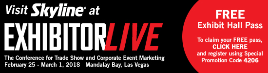 Click here to get your pass to EXHIBITORLIVE